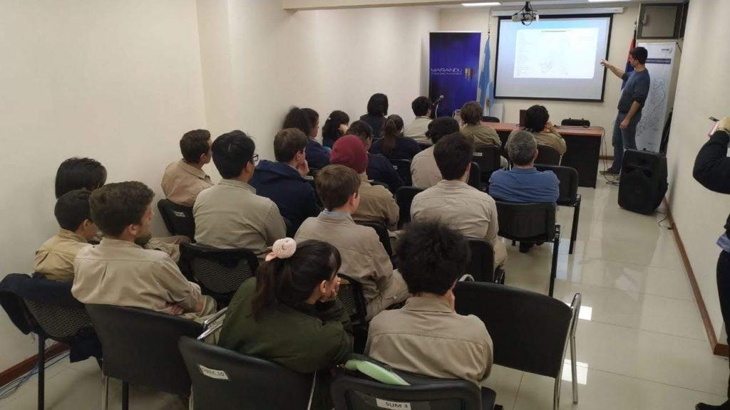 Ipesmi Secundario Técnico visitó Marandú Comunicaciones